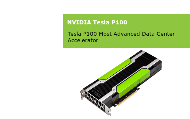 New NVIDIA Tesla Pascal cards